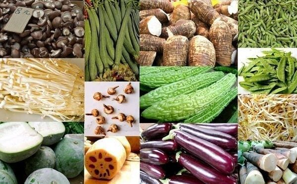 Asian Vegetables: Beans, Melons, Mushrooms, and Root Vegetables, by thewoksoflife.com
