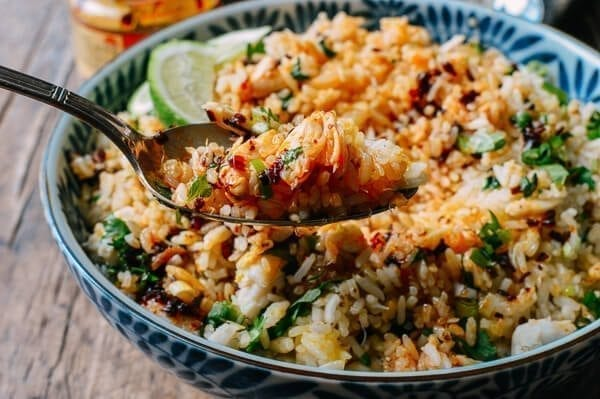 Crab Fried Rice, by thewoksoflife.com