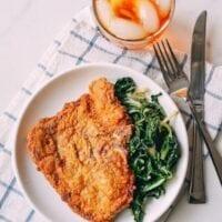 Fried Pork Chops, by thewoksoflife.com