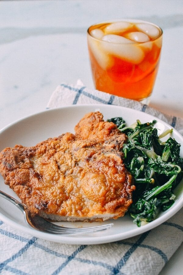 Fried Pork Chops, by thewoksoflife.com