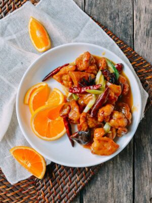 Orange Chicken, by thewoksoflife.com