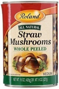 Roland Straw mushrooms