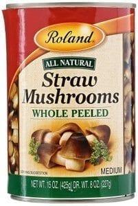 Roland Straw mushrooms