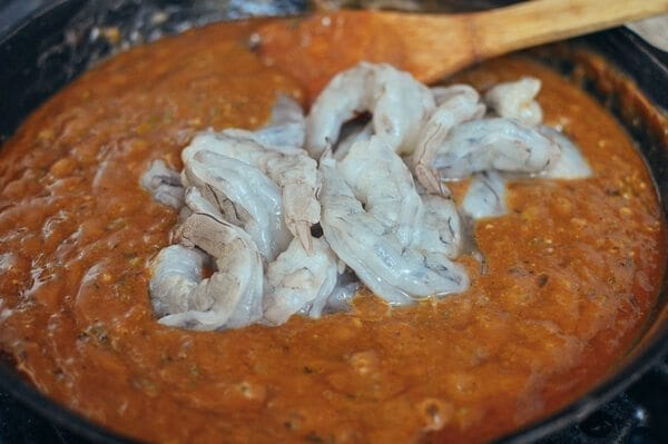 Shrimp Étouffée, by thewoksoflife.com