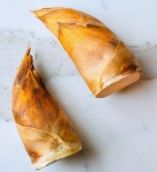 winter bamboo shoots