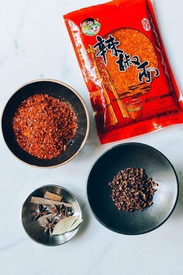 How to Make Chili Oil, by thewoksoflife.com