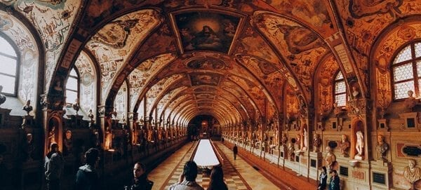 munich residenz hall of antiquities