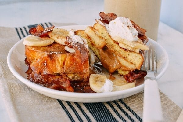 Elvis French Toast, by thewoksoflife.com