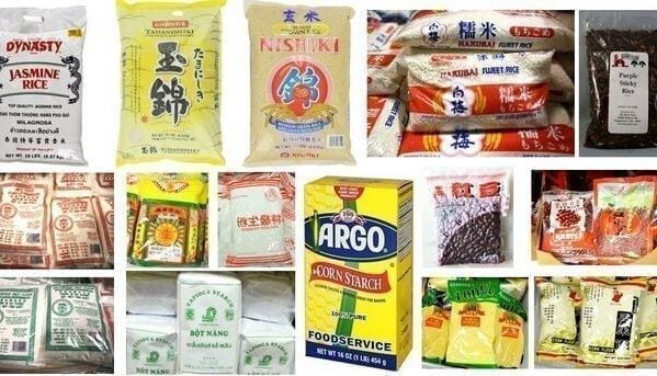 Chinese Ingredients - Rice, Grains, and Flours by thewoksoflife.com