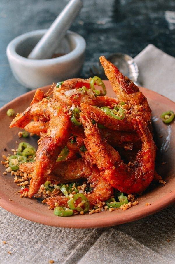 Salt and Pepper Shrimp, by thewoksoflife.com