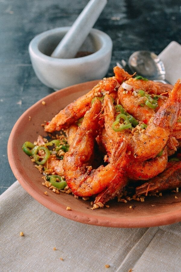 Salt and Pepper Shrimp, by thewoksoflife.com