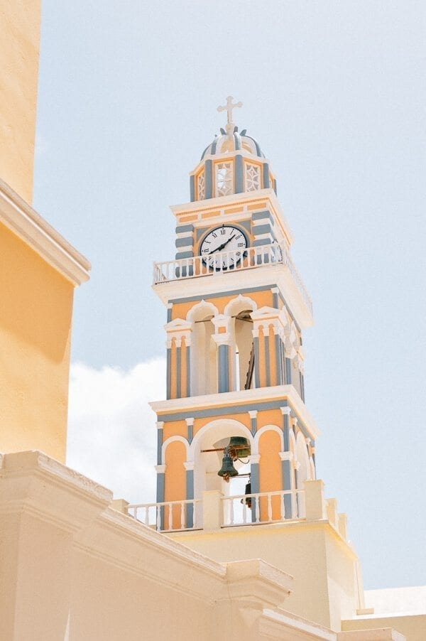 Santorini Clocktower