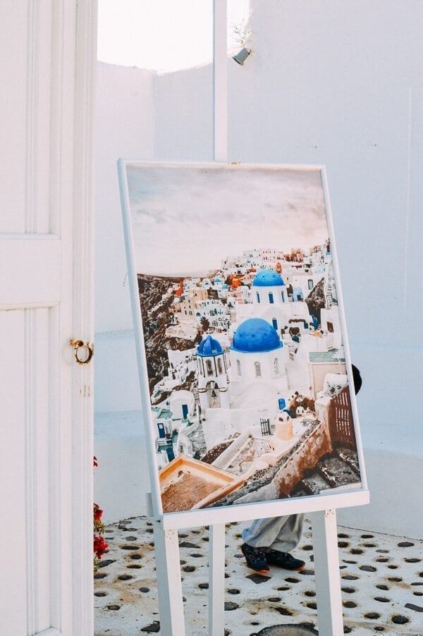 Oia Painting