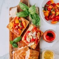 Focaccia, Three Ways