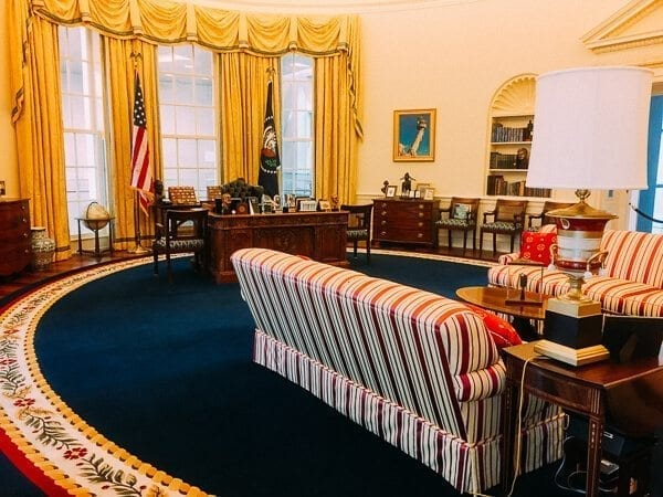 presidential library oval office