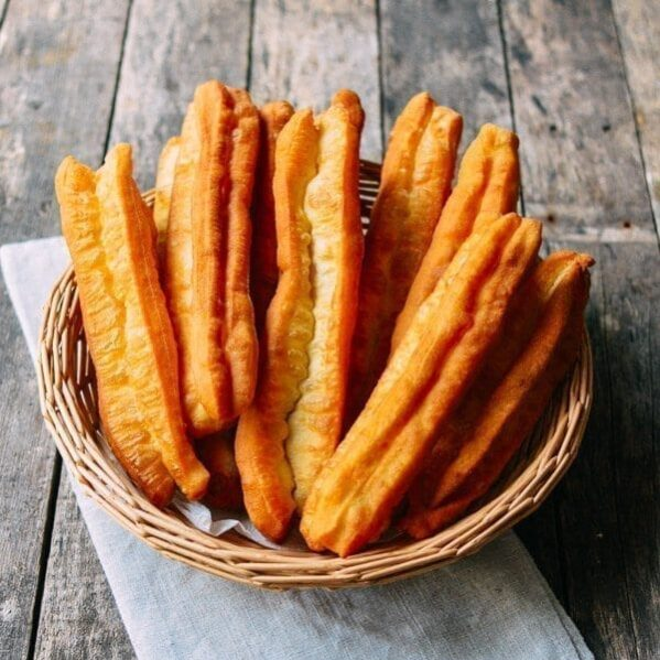 Chinese fried youtiao