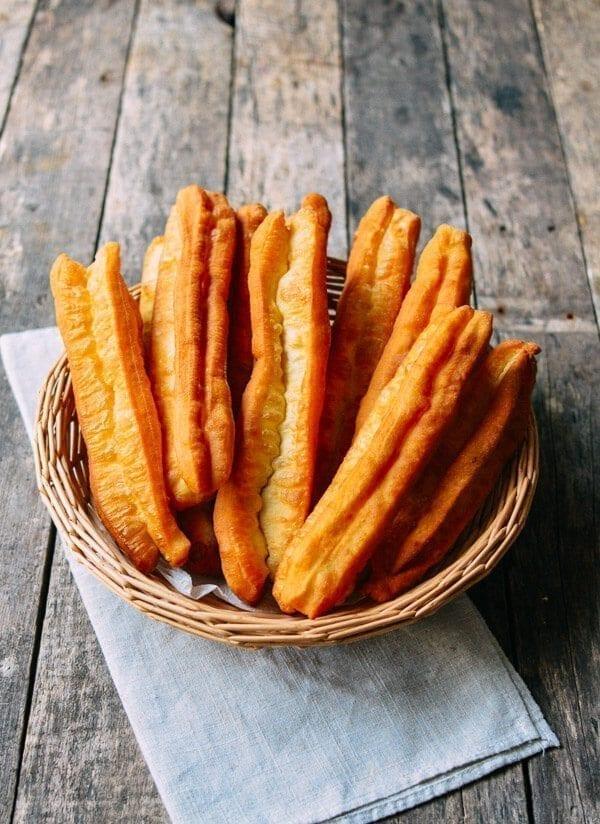 Youtiao Recipe Chinese Fried Dough The Woks Of Life