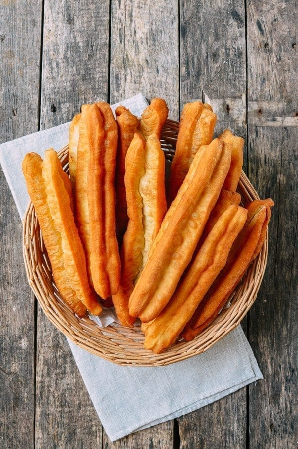 Youtiao (Chinese Fried Dough), by thewoksoflife.com