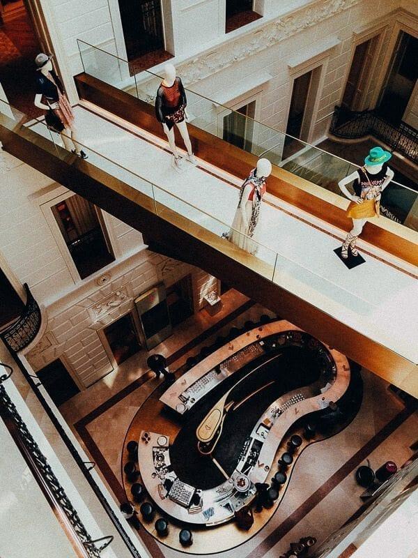 budapest luxury shopping