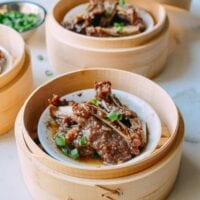 Dim Sum Steamed Beef Short Ribs with Black Pepper