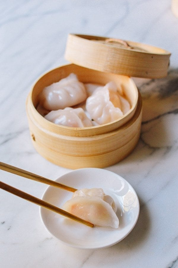 Har Gow (Dim Sum Shrimp Dumplings), by thewoksoflife.com