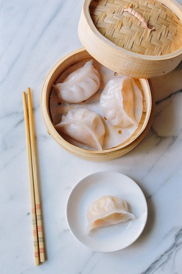 Har Gow (Dim Sum Shrimp Dumplings), by thewoksoflife.com