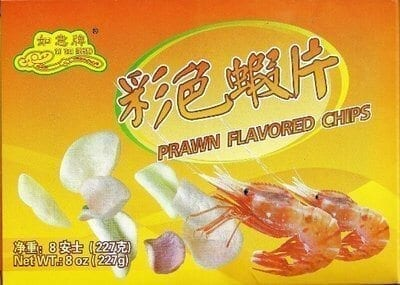 prawn flavored chips