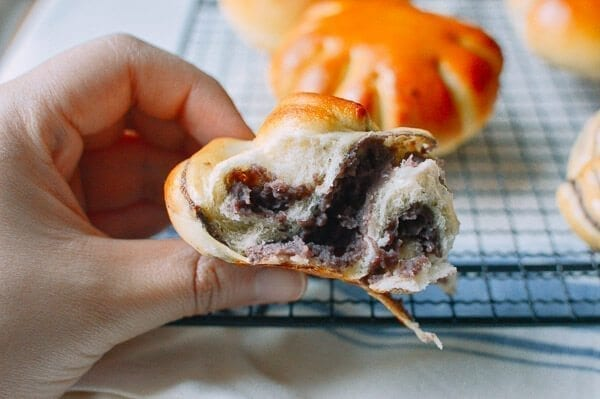 Red Bean Bread, by thewoksoflife.com