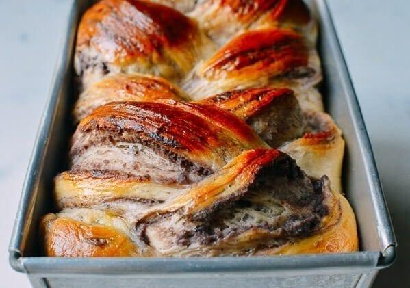 Red Bean Bread, by thewoksoflife.com