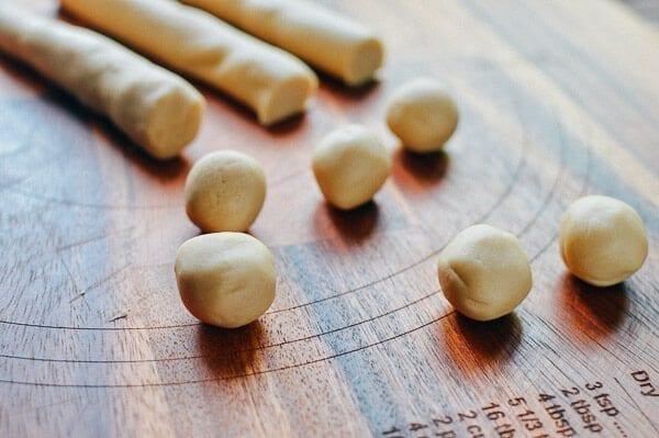 Savory mooncakes, by thewoksoflife.com