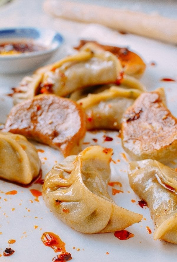 Vegetable Dumplings, by thewoksoflife.com