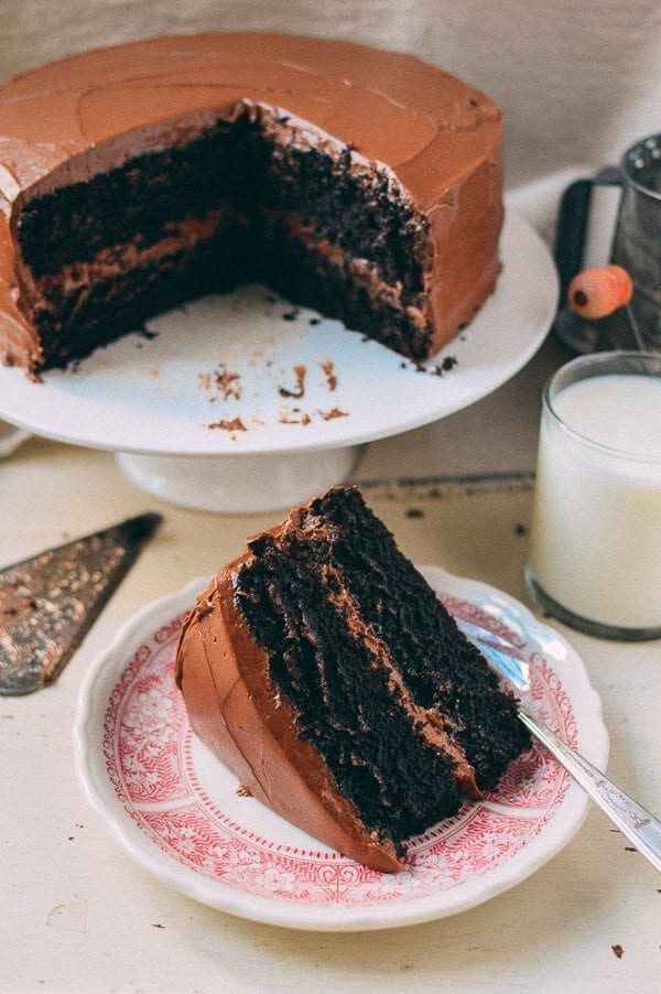 Our Favorite Chocolate Cake Recipe By Thewoksoflife