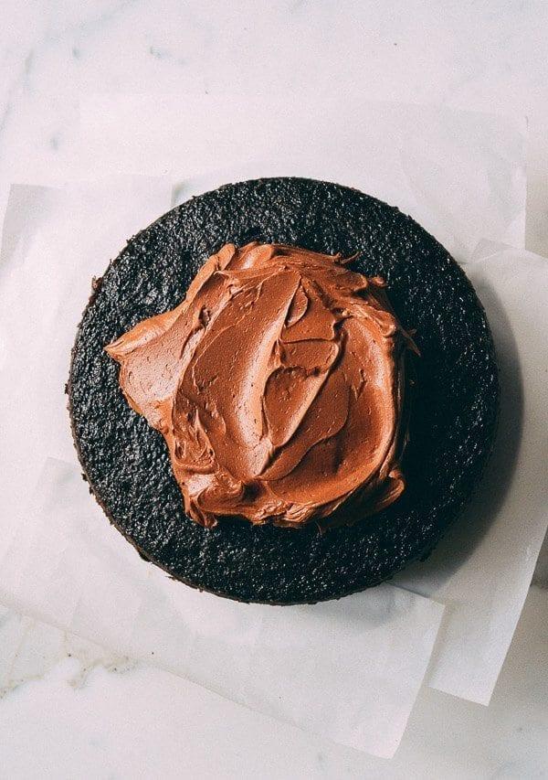 Our Favorite Chocolate Cake Recipe, by thewoksoflife.com