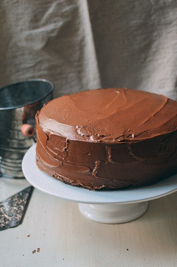 Our Favorite Chocolate Cake Recipe, by thewoksoflife.com