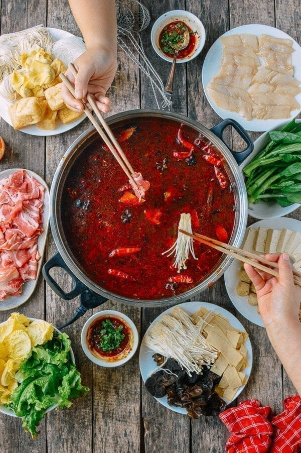 Sichuan Hot Pot, by thewoksoflife.com