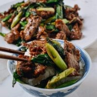 Scallion Beef Stir-fry