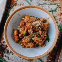 Sesame Chicken – Baked, Not Fried!