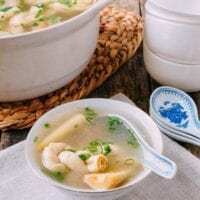 Yan Du Xian (Shanghainese Salted Pork Soup with Bamboo Shoots and Tofu)