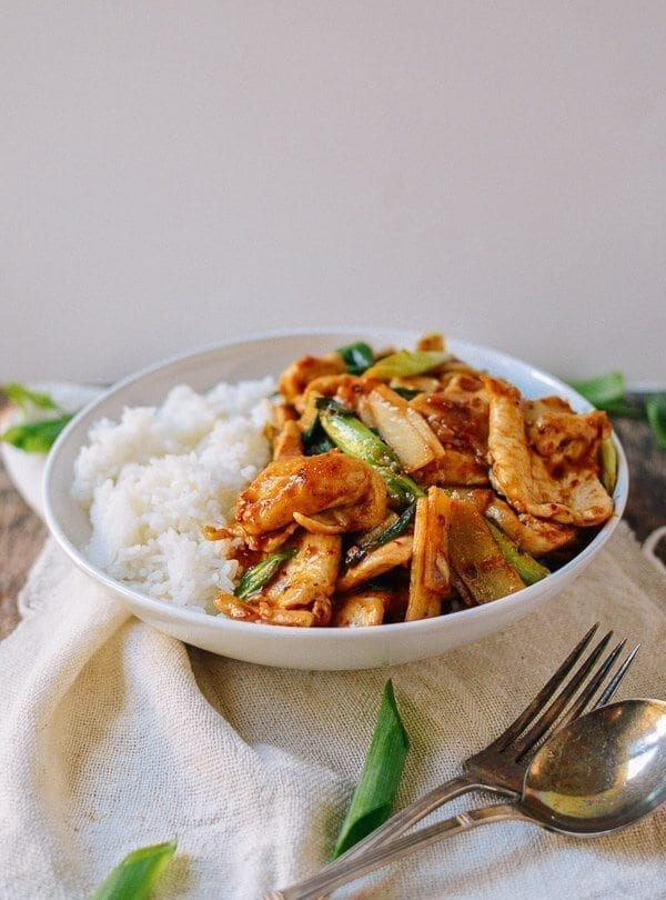 Spicy Chicken Stir-fry, by thewoksoflife.com
