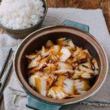 Napa cabbage stir-fry