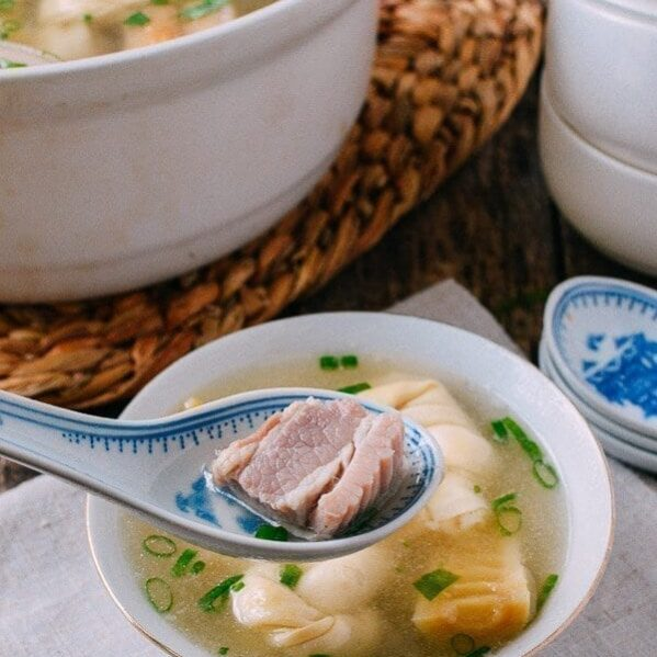 Shanghai Soup with tofu knots and bamboo shoots