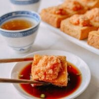 Crispy Skin Stuffed Tofu, A Chinatown Favorite