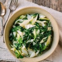 A Basic Stir-Fried Bok Choy Recipe, by thewoksoflife.com