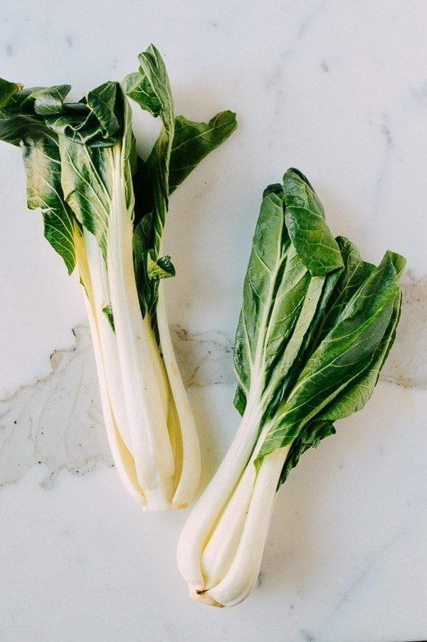 Chinese Vegetables: Leafy Greens - white bok choy, by thewoksoflife.com
