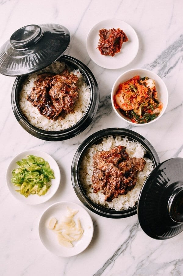 Bulgogi Bowls, by thewoksoflife.com