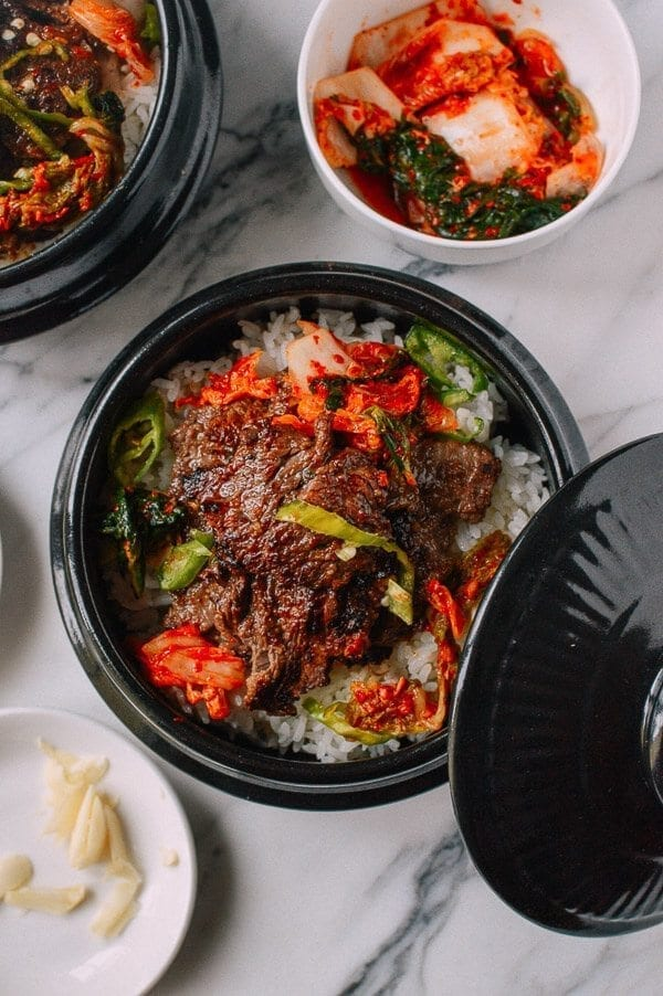 Beef Bulgogi Bowls, by thewoksoflife.com