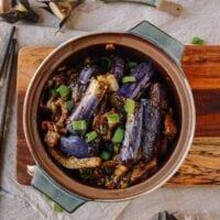Chinese Eggplant Casserole, by thewoksoflife.com