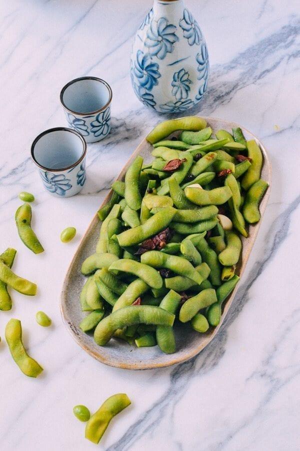 Edamame Beans, by thewoksoflife.com