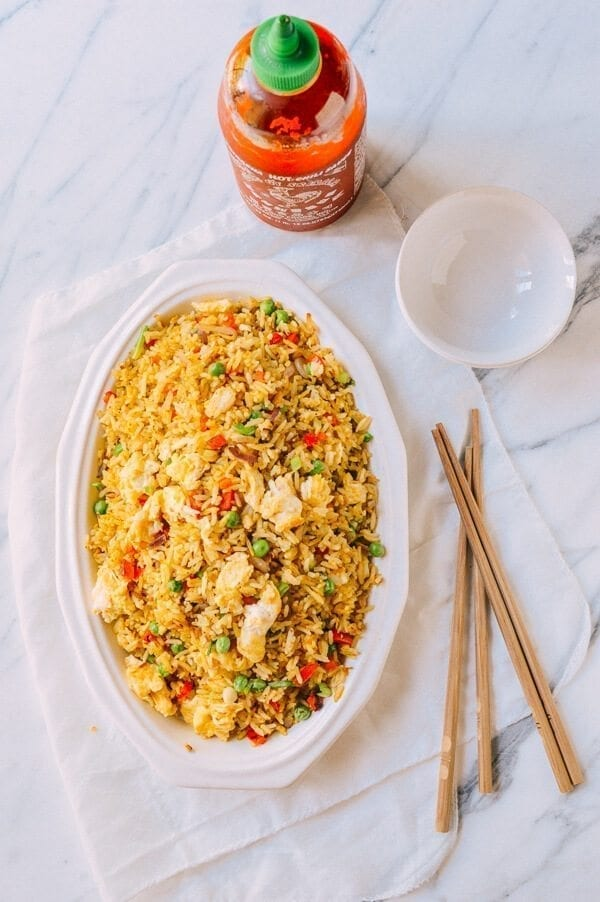 how to make easy chinese egg fried rice