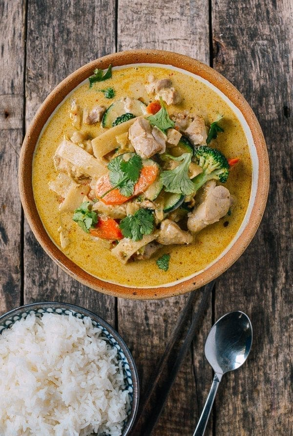 Green Curry Chicken Thai Style The Woks Of Life